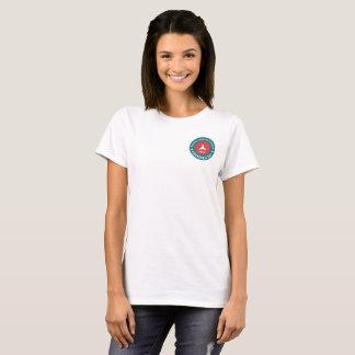 T-shirt La pièce en t des femmes de jour de la maladie de