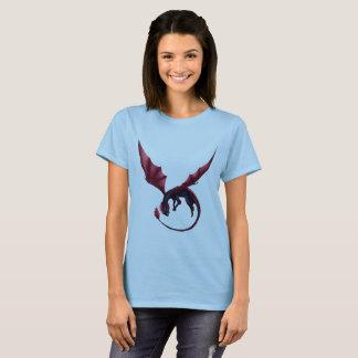 T-shirt La pièce en t des femmes d'Ouroboros de dragon