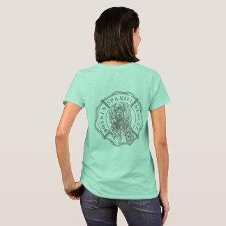 T-shirt La pièce en t des femmes officielles de logo