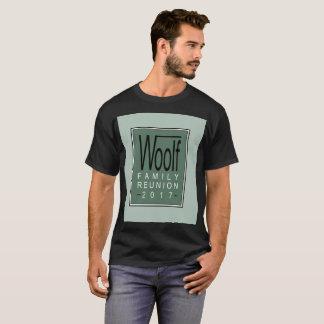 T-shirt La pièce en t des hommes de la Réunion de famille