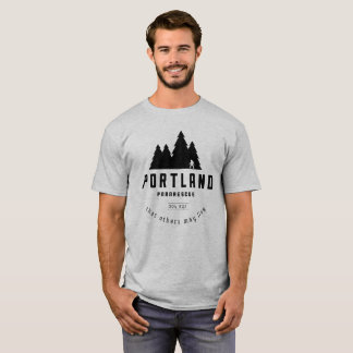 T-shirt La pièce en t des hommes de Pararescue de Portland
