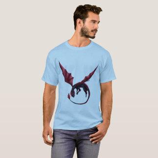 T-shirt La pièce en t des hommes d'Ouroboros de dragon