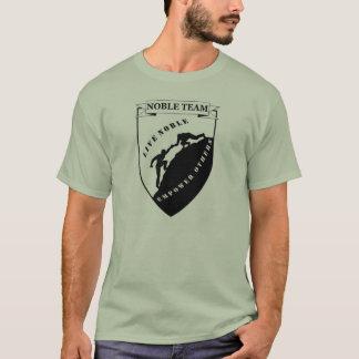 T-shirt La pièce en t des hommes nobles d'équipe