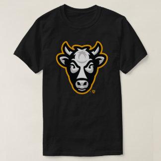 T-shirt La pièce en t d'hommes de vache au Wisconsin