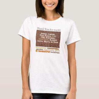 T-shirt La pièce en t du constructeur reconnaissant