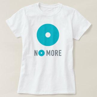 T-shirt La pièce en t inconvenable de PAS PLUS de femmes