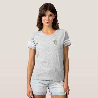 T-shirt La pièce en t marinée de fac de princesse FL (2)