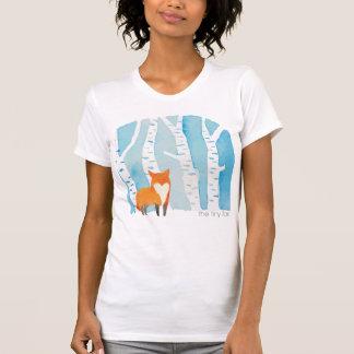 T-shirt la pièce en t minuscule de renard