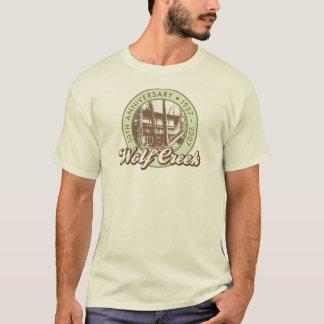 T-shirt La pièce en t naturelle des hommes de Wolf Creek