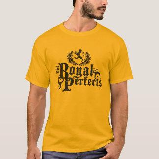 T-shirt La pièce en t parfaite royale de logo (foncée)