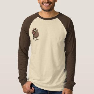 T-shirt La pièce en t raglane des hommes de transitoire