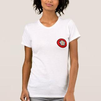 T-shirt La pièce en t uniforme de base des femmes