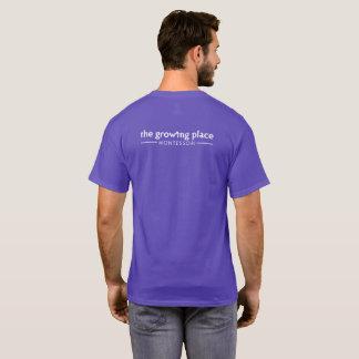 T-shirt La pièce en t unisexe de Montessori de place