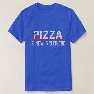 T-shirt La pizza est Saint-Valentin drôle de nouvelle amie