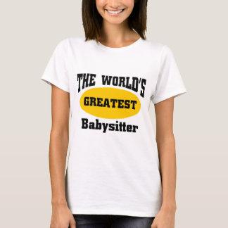 T-shirt La plus grande babysitter du monde