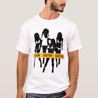 T-shirt La police attache du ruban adhésif - à la
