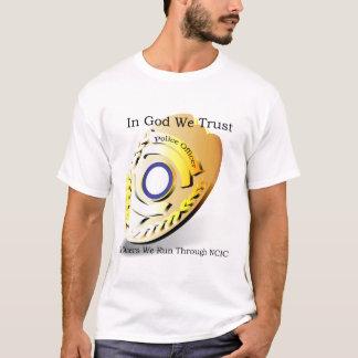 T-shirt La police câline - dans Dieu nous faisons