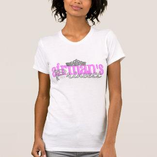 T-shirt La princesse de l'aviateur