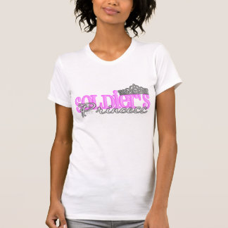 T-shirt La princesse du soldat