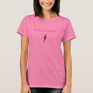 T-shirt La promenade est bon marché !