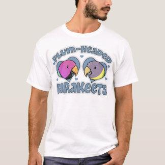 T-shirt La prune de Kawaii a dirigé la perruche