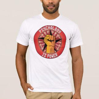 T-shirt La psychologie est puissance