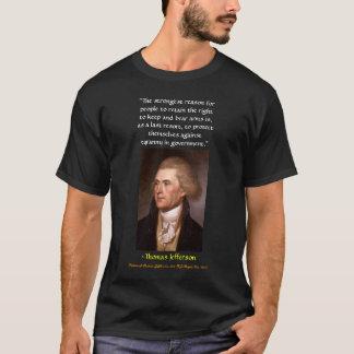 T-shirt La raison la plus forte des personnes de maintenir
