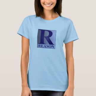 T-shirt La RAISON T de Ladie
