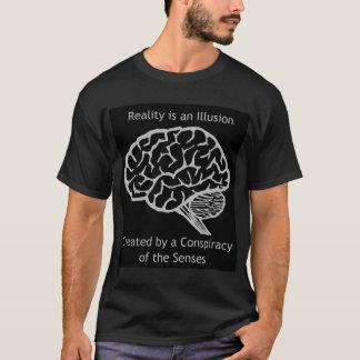 T-shirt La réalité est une illusion