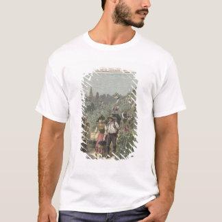 T-shirt La récolte de vin