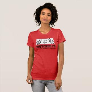 """T-shirt La récupération de PAO CETTE FILLE """"l'a soutenu !"""
