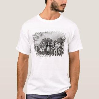T-shirt La reddition du Général Burgoyne Saratoga