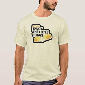 T-shirt La règle #32 apprécient les petites choses