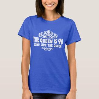 T-shirt La Reine a 90 ans