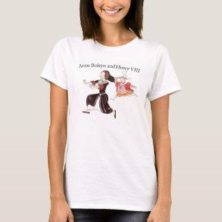 T-shirt La Reine de chasse Anne Boleyn du Roi Henry VIII