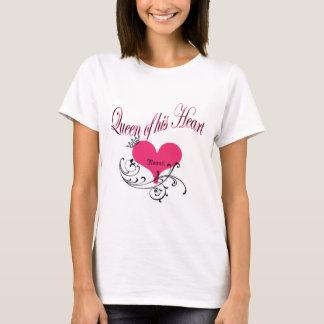 T-shirt La Reine de son coeur