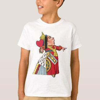 T-shirt La reine des coeurs est responsable !