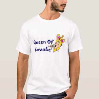 T-shirt La Reine du karaoke