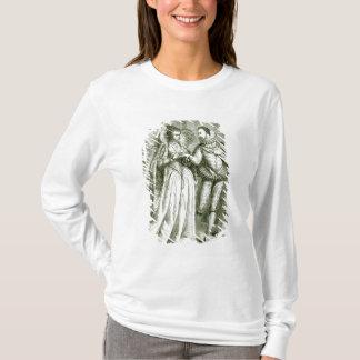T-shirt La Reine Elizabeth et ses prétendants