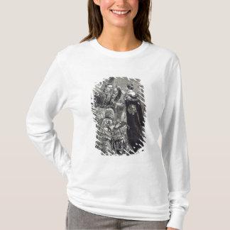 T-shirt La reine investissant l'empereur du Français
