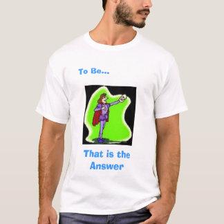T-shirt La réponse