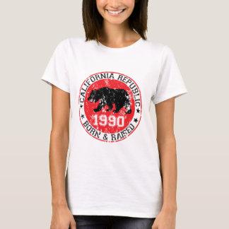 T-shirt la république de la Californie soutenue a soulevé