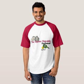 T-shirt La République d'huître Pickleball - Wellfleet -