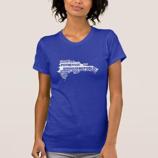 T-shirt La République Dominicaine de service à la