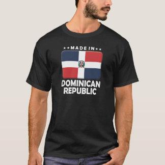 T-shirt La République Dominicaine faite
