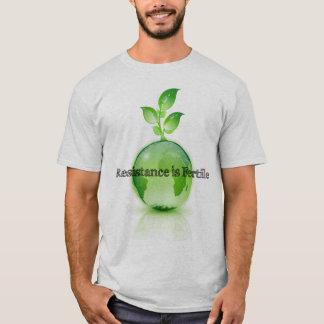 T-shirt La résistance est la chemise fertile #2