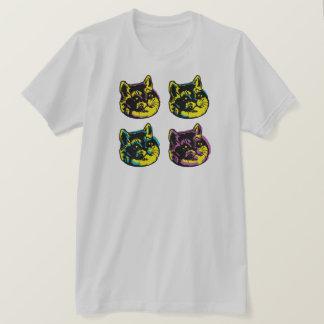 T-shirt La respiration lourde de bruit de chats mignons