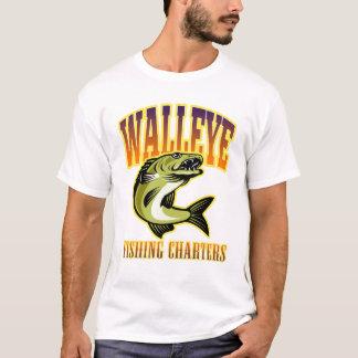 T-shirt La rétro pêche des brochets vairons des hommes