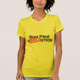 T-shirt La révolution de Ron Paul continue