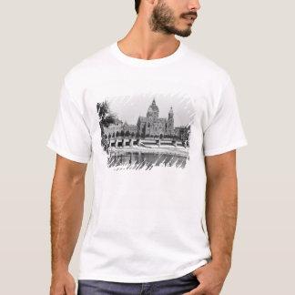T-shirt La rivière Isar à Munich, c.1910